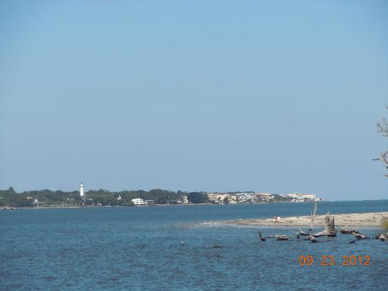 Jekyll Island Club Hotel: View from Island