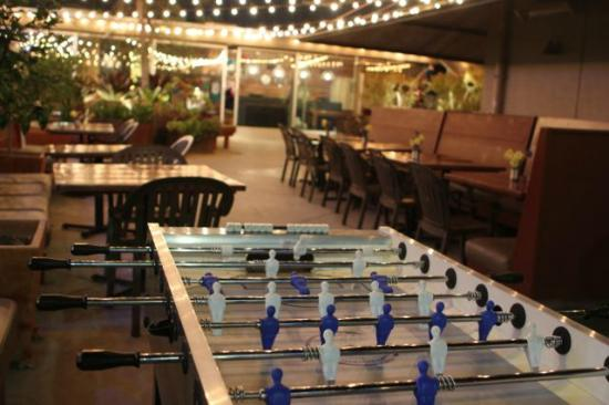Farmer's Daughter Hotel: :-) Fooseball. Wish I'd had somebody to play it with.