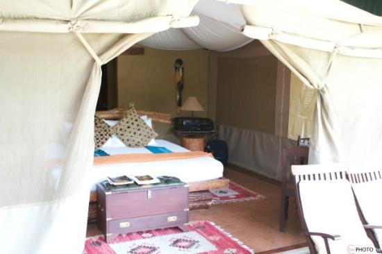 Mara Explorer Camp: Chambre avec vue sur la nature
