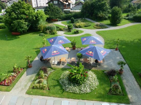 The Park-Garden Hotel at Mattenhof Resort: Stay on this side for the best mountain views