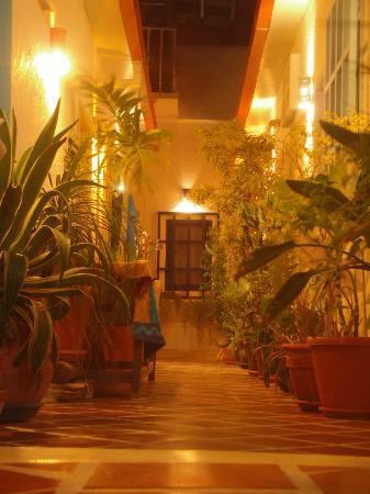 Posada Macondo: Corridorio di accesso alle camere