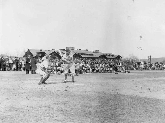 Bear Mountain Inn: Former training grounds for the Brooklyn Dodgers