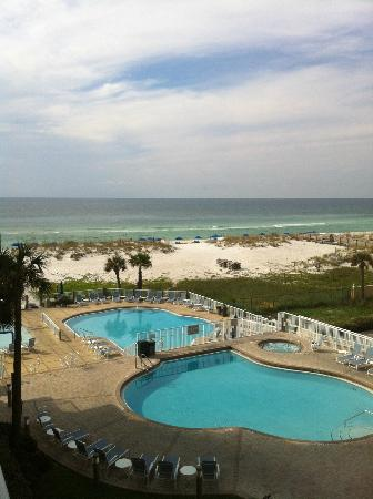 SpringHill Suites Pensacola Beach: Pool View