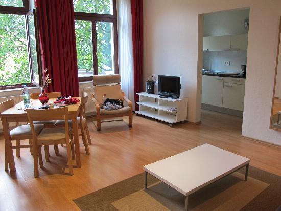 Pension am Zwinger: salotto
