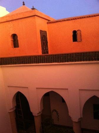 Riad Dar Zaman: view from upper terrace