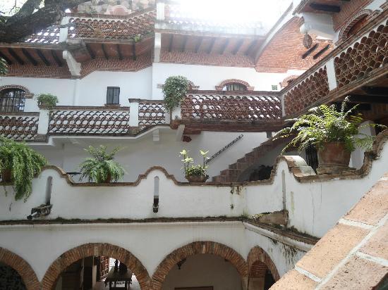 Hotel Los Arcos: Desde la habitación al Patio