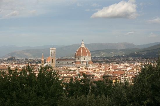 Camping Michelangelo: View from the nearby Piazzale Michelangelo