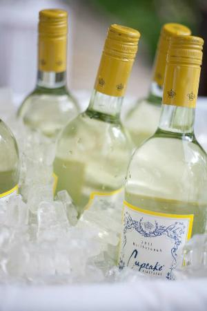 Homestead Resort: Perfectly chilled wine