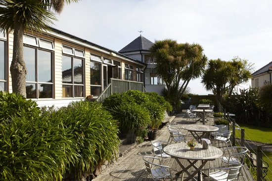 The Old Coastguard Hotel Restaurant: The Terrace
