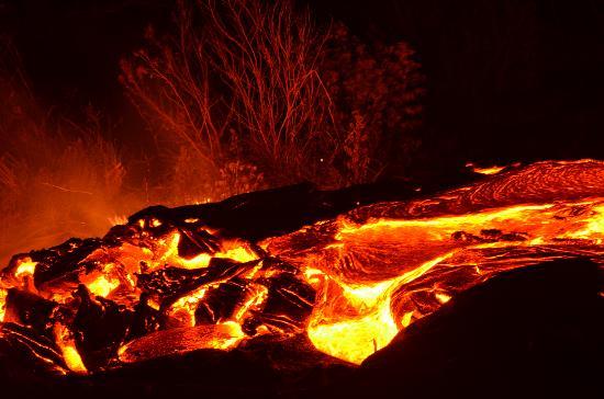 Puʻu ʻOʻo Trail : Lava!
