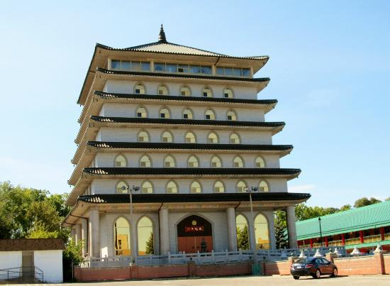 Hampton Inn by Hilton Niagara Falls-North Of The Falls: Buddhist Temple