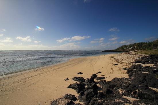 La Maison D'ete Hotel: La bellissima spiaggia privata