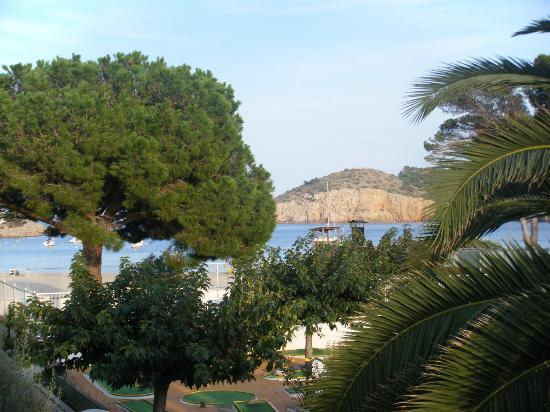 Can Miquel: View from room to beach