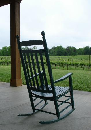 RayLen Vineyards: Rock on the Porch and View the Vineyard