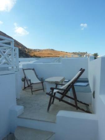 Tamarix del Mar: Roof terrace of 209 (jacuzzi to left)