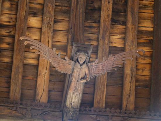 St Nicholas' Chapel: Angel roof