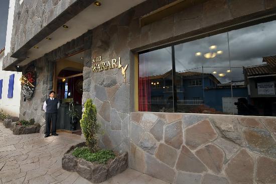 Hotel Warari: Ingreso Hotel