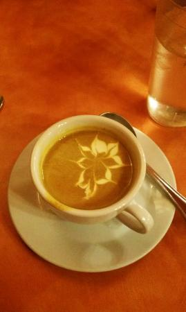 Cafe at the Park: Awesome pumpkin soup
