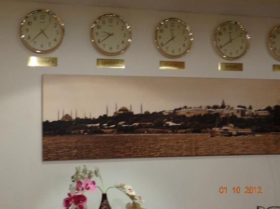 Akgun Istanbul Hotel: Reception