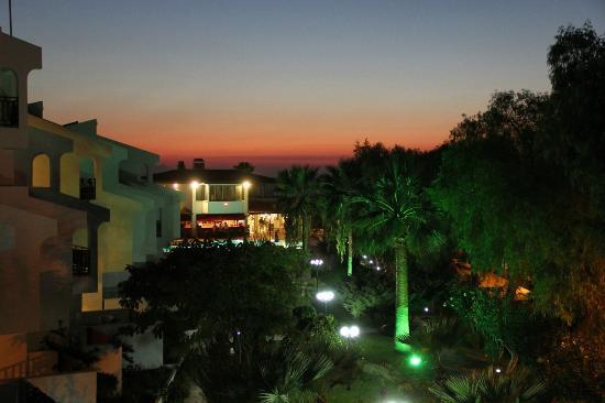 Sentinus Beach Hotel: vue du balcon