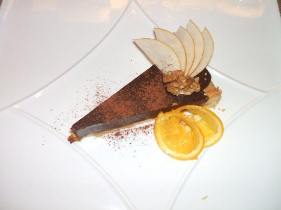 Gran Can Hotel Ristorante: Ganache al cioccolato