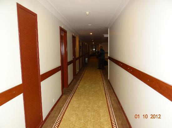 Akgun Istanbul Hotel: Corridor