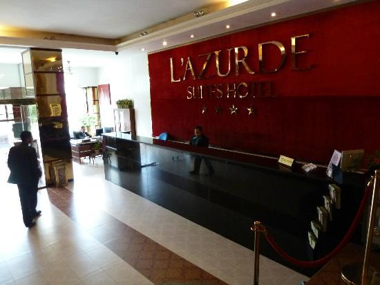 Hotel l'Azurde: Lobby