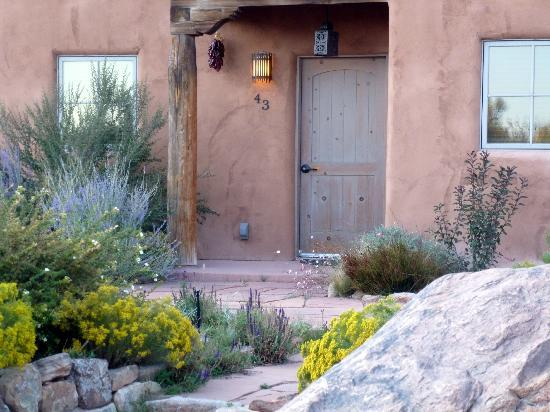 Ojo Caliente Mineral Springs Resort and Spa: Entrance to one of the Plaza Suites