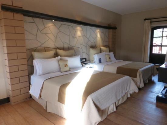 Sonesta Posadas del Inca Sacred Valley Yucay: 2 beds - very spacious!