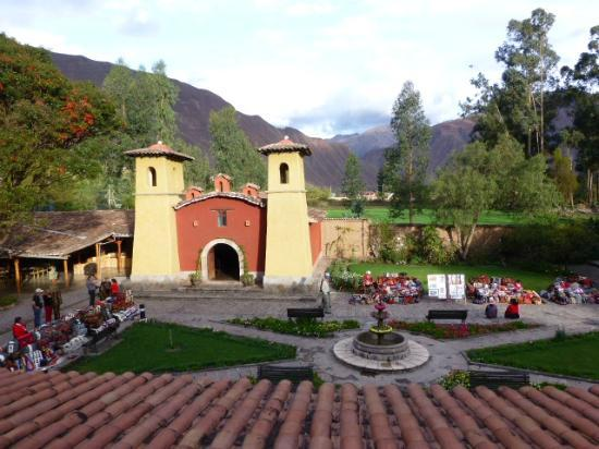 Sonesta Posadas del Inca Sacred Valley Yucay: the church outside our room