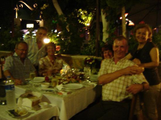 Mezgit Restaurant : Friends celebrating a special birthday at Mezgit
