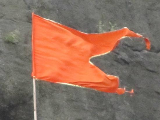 bhagwa flag