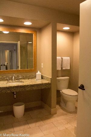 Hyatt Regency Indian Wells Resort & Spa: Possibly the biggest bathroom I've ever had at a hotel.
