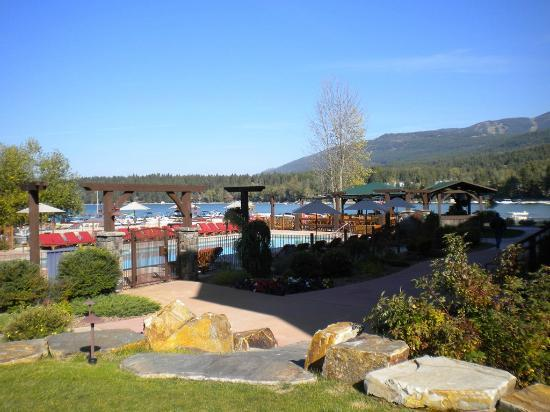 Lodge at Whitefish Lake: View