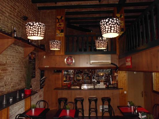 Bar Santa Fe: Old Fashion One.