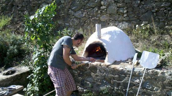 B&B Il Ruscello: Pizza as it should be made