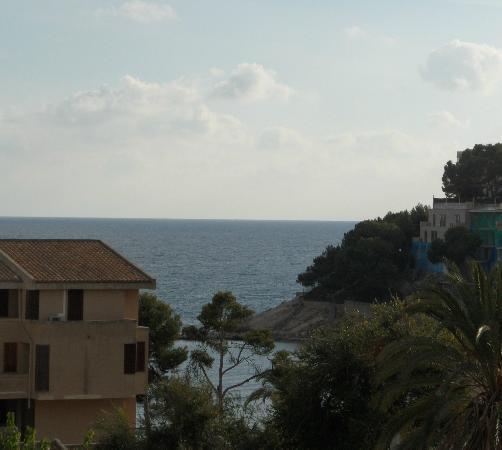 Hotel Diamante: Blick von der Dachterrasse