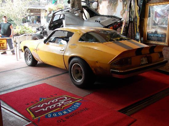 hollywood star cars museum bumblebee