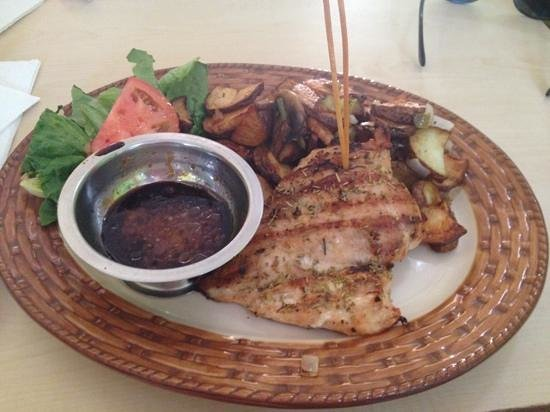 The ossobuco: grilled chicken