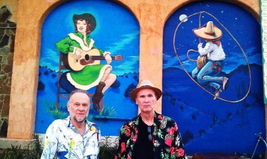 Patsy's Cowgirl Cafe: Two urban cowboys at Patsy's