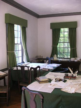 Ford Mansion and Museum : ROOM INTERIOR