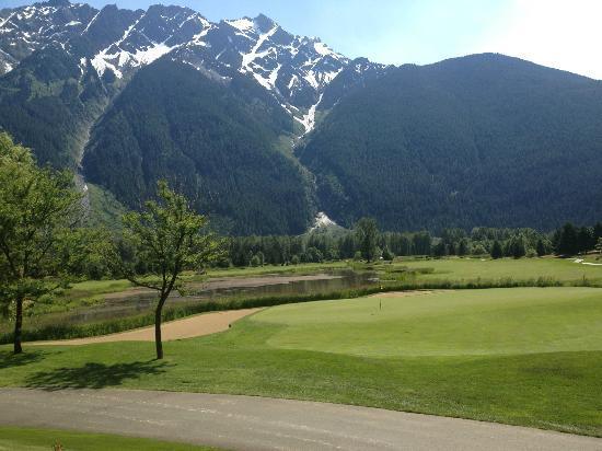 Pemberton, Kanada: Manicured Golf Greens