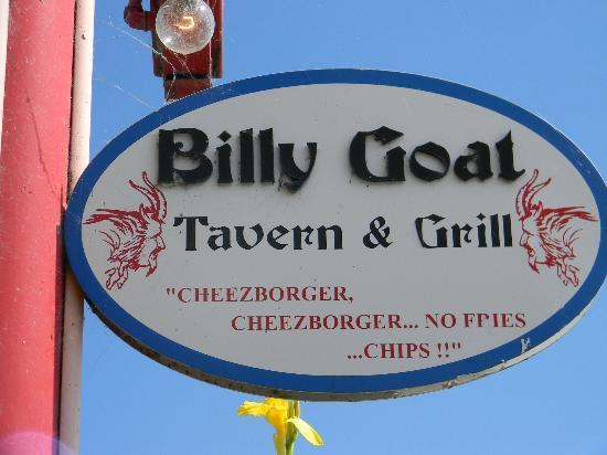 Billy Goat Tavern: Navy Pier Sign