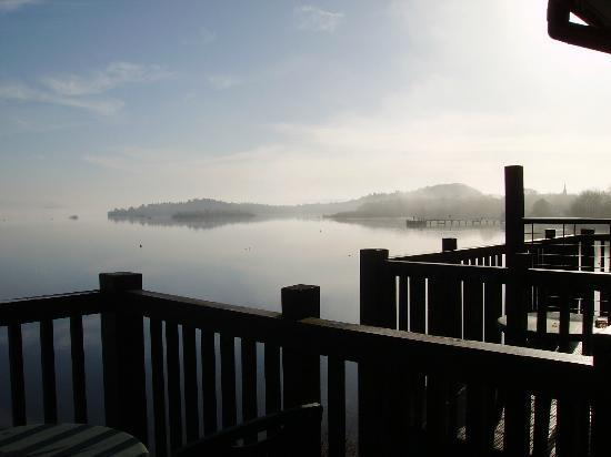Lodge on Loch Lomond: Beautiful View from Corbett Room