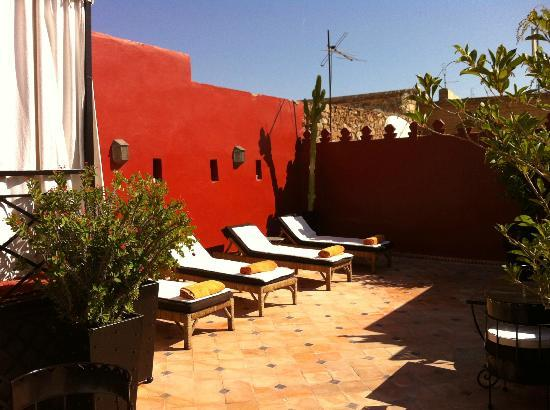 Riad Argan: sun terrace