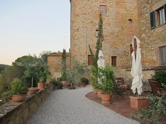 Palazzo Brandano: The terrace/garden