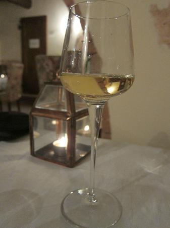Palazzo Brandano: Complimentary desert wine