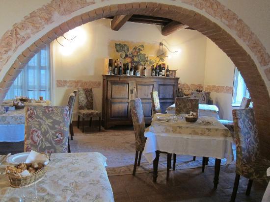 Palazzo Brandano: Eating room