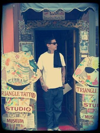 Triangle Tattoo and Museum: Triangle Tattoo