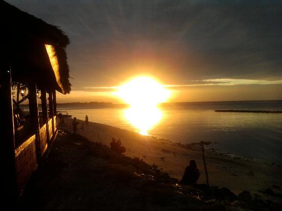 Gili Air Resort: Sunset